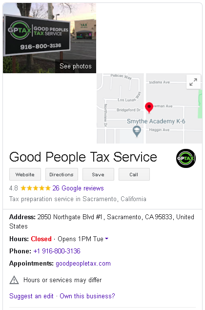 Google Business My Profile