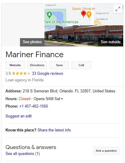Mariner-finance